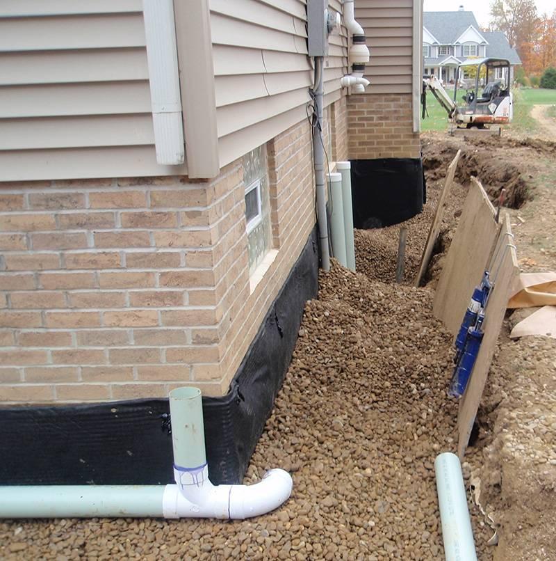 Water X Tract Basement Waterproofing Channel: Residential Home Waterproofing